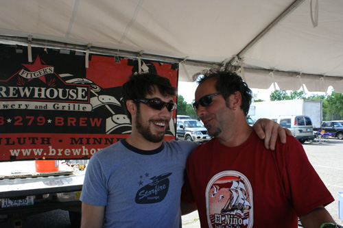Dave Hoops, St. Paul Summer Beer Fest... I think....