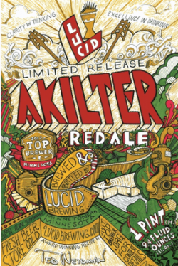 Lucid/Top Brewer Akilter Red Ale
