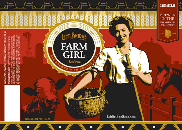 Lift Bridge Farm Girl