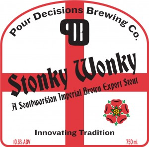 Pour Decisions Brewing Company Stonky Wonky Stout